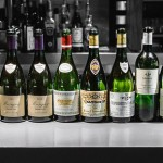 Wines from a dinner at Black by Ezard
